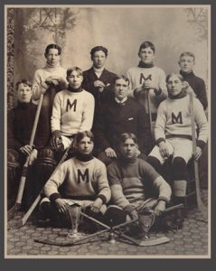 1900-1901 Toronto Lacrosse and Hockey League Junior Champions - First ever Marlboro Minor's hockey championship