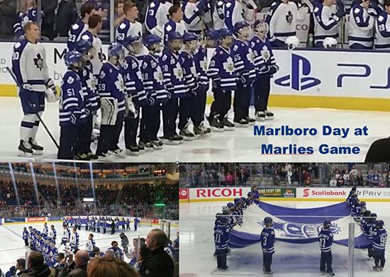 Marlboros Day at the Marlies Game