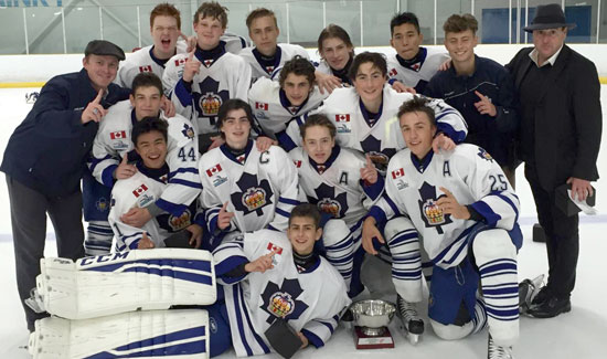 Marlboro Bantams Capture Red Wing Tournament