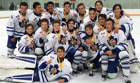 Bantams Capture Ottawa Tournament