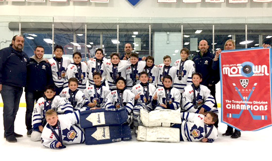 Minor Peewee Team 2016 Motown Classic Champions