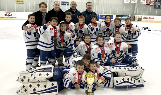 Minor Atom Marlboros 2016 Mississauga Shanahan International Champions
