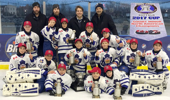 Minor Atom Win Buffalo 2017 Cup