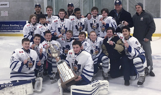 Pee Wee Marlboros GTHL Challenge Cup Champs