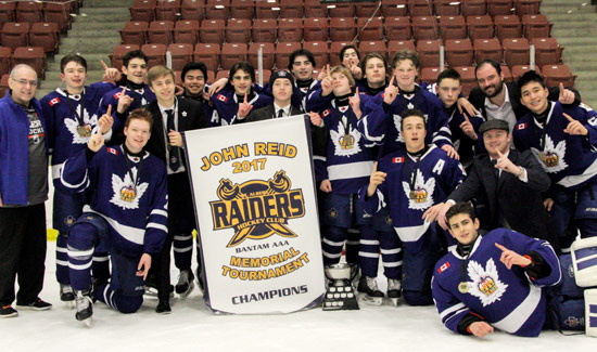 Bantam Marlboros WIN John Reid Memorial Tournament