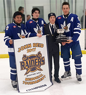 Bantam Marlboros - 2017 John Reid Memorial Tournament Champions