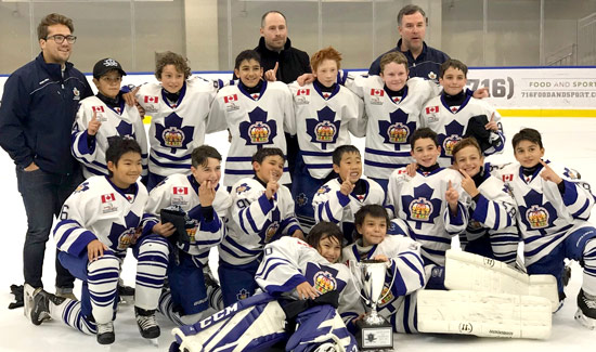 Atom Marlboros won the Harborcenter Cup in Buffalo