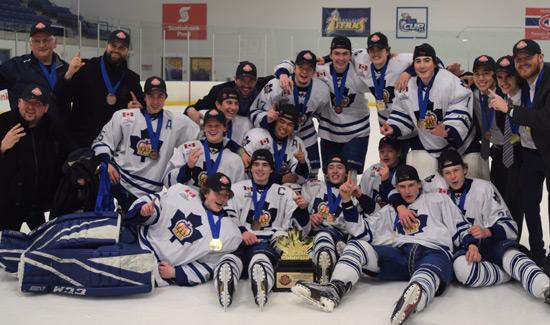 Toronto Marlboros  Minor Midgets Crowned 2017 - 2018 GTHL Champions