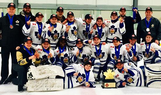 Marlboros Capture Minor Peewee GTHL Championship