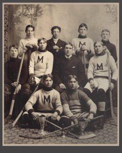 1900-1901 Toronto Lacrosse and Hockey League Junior Champions - First ever Marlboro Minor's hockey championship