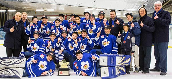 Pee Wee Major Team Earns Birth in the All-Ontario Championships