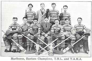 THL Bantam Champions 1931 – 1932