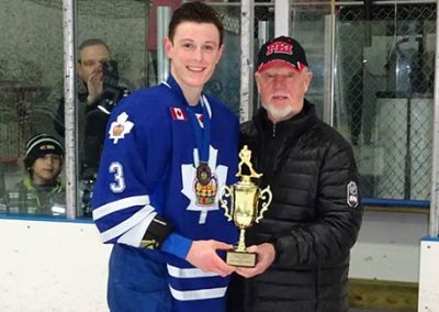 Don Cherry and Ben Jones Tournament MVP