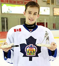 Erik Yelle - International Silver Stick Tournament MVP