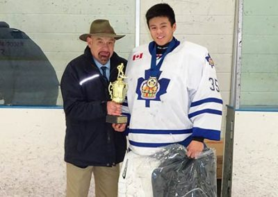 Holiday Classic Major Bantam MVP Elliott Tang