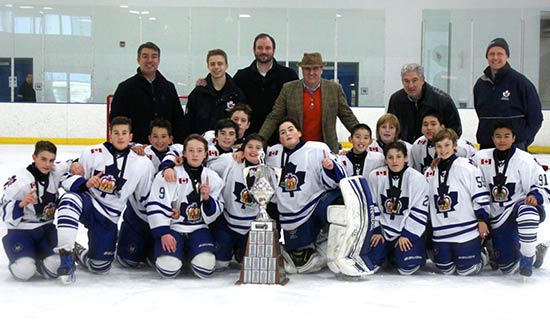 Major Pee Wee - Bauer Challenge Cup Champions