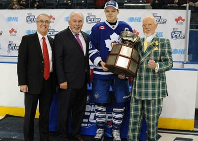 OHL Cup presentation.