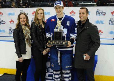 Ryan McLeod OHL Cup MVP
