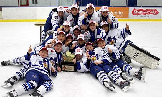 Congratulations - Minor Pee Wee Marlboros Clinch GTHL Championship