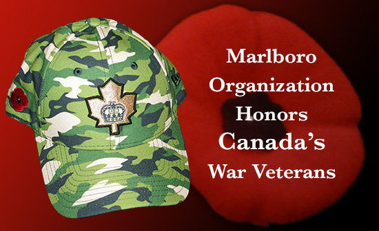 Marlboro Organization Honors Canada's War Veterans