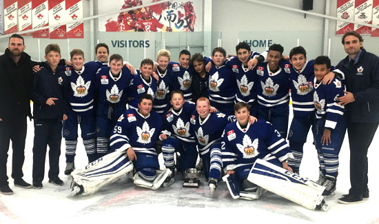 Marlboros Minor Bantams Defeat Jr. Canadiens to Win Gold at the Red Wing Early Bird Tournament