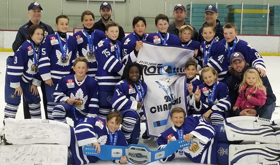 Minor Pee Wee Team Captures Bauer Motown Cup