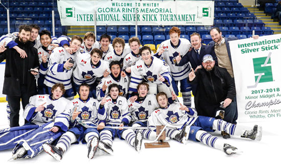 Marlboros Minor Midgets Capture 2017 Silver Sticks Tournament