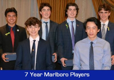 2018 Annual Banquet - 7 Year Players