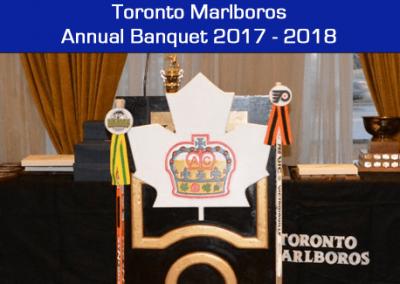 Toronto Marlboros Annual Banquet 2017-2018