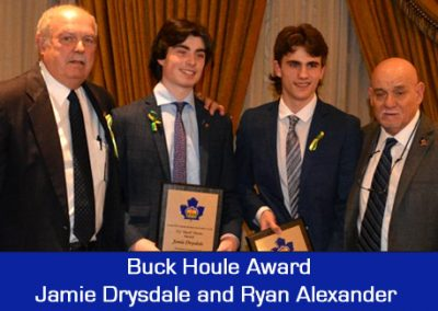 2018 Houle Award - Jamie Drysdale and Ryan Alexander