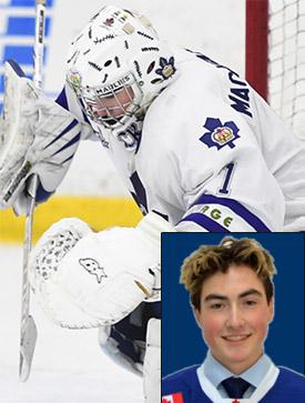 Connor MacKenzie Proud Recipient of the GTHL Gord Hughes 2018 Minor Midget AAA Scholarship