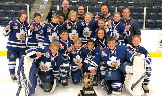 Toronto Marlboros 2018 Drew Doughty Tournament Champions Toronto