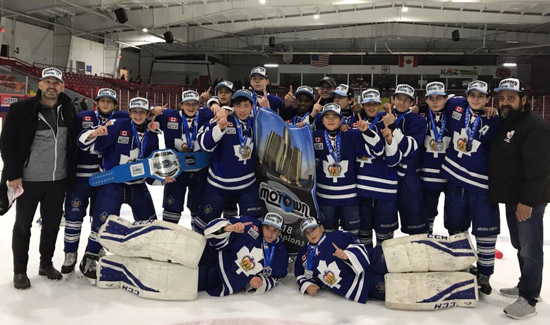 Minor Bantam Marlboros Capture Motown Cup