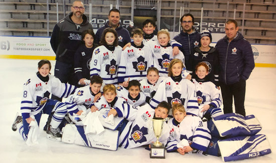2008 Marlboros Win Buffalo Jr Sabres Invitational