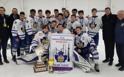 Toronto Marlboros Major Bantam 2018 Holiday Classic Champions