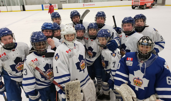 Major Peewee Marlboros Win Pro Hockey Life Cup