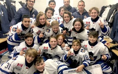 Major Atom Marlboros Take Pro Hockey Life Cup