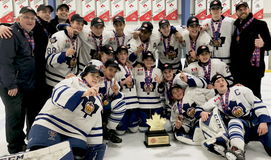 Marlboro Bantams on their way to the Provincial Championships… Crowned GTHL Champions