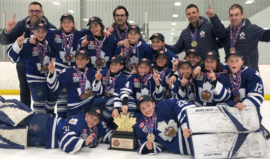 Marlboro Major Atoms Capture GTHL Championship On their Way to the Provincial Finals