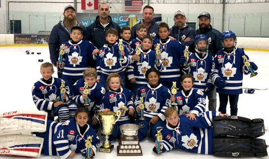 2019 Friendship Tournament Champs Minor Atom Toronto Marlboros