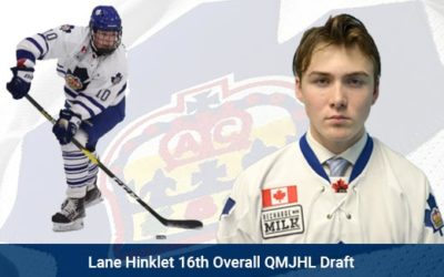 Lane Hinkley 16th Overall QMJHL Draft