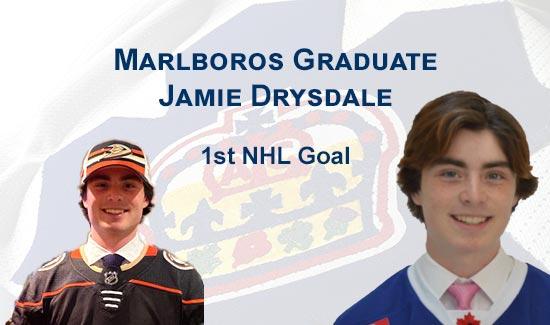 Jamie Drysdale 1st NHL Goal
